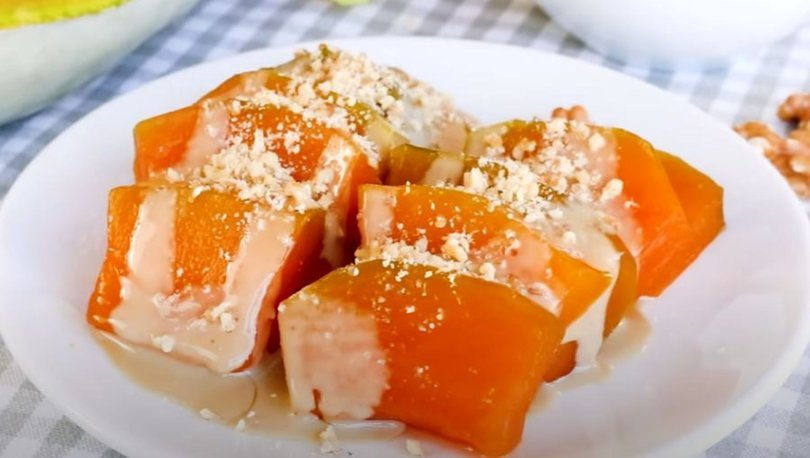 Kabak tatlısı tarifi: Fırında kabak tatlısı nasıl yapılır?