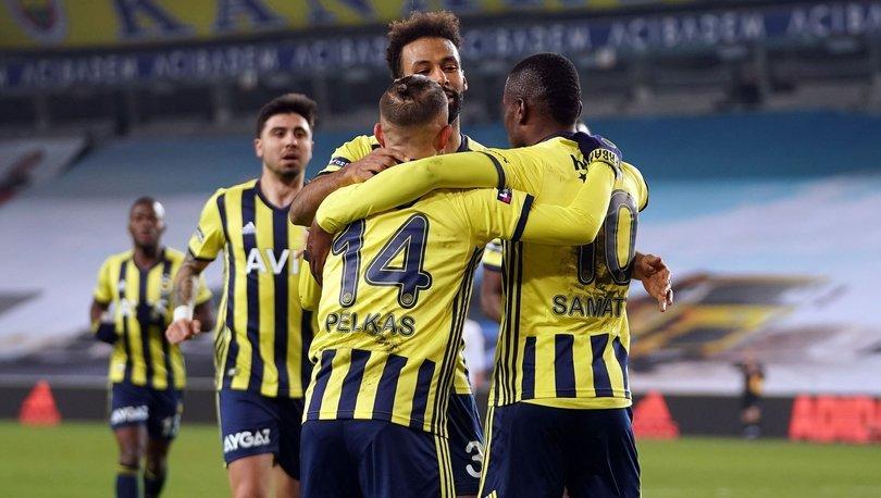 Fenerbahçe: 3 - Ankaragücü: 1 | MAÇ SONUCU