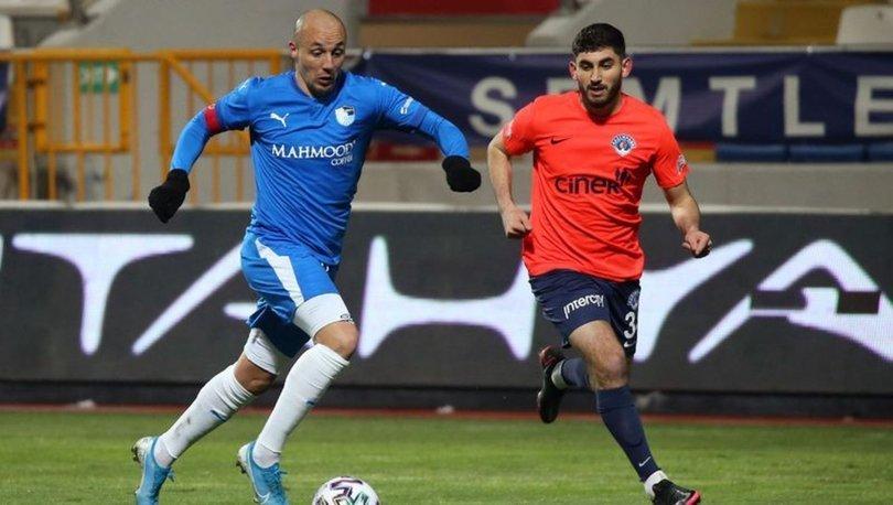 Kasımpaşa: 1 - Erzurumspor: 2 MAÇ SONUCU