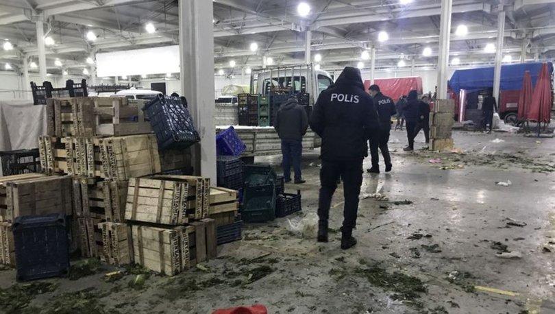 Konya'da pazarcılar arasında bıçaklı kavga: Biri ağır 4 yaralı