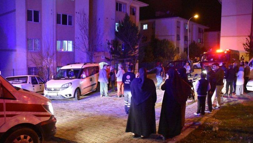 Adana'da apartman yangını: 6 kişi dumandan etkilendi