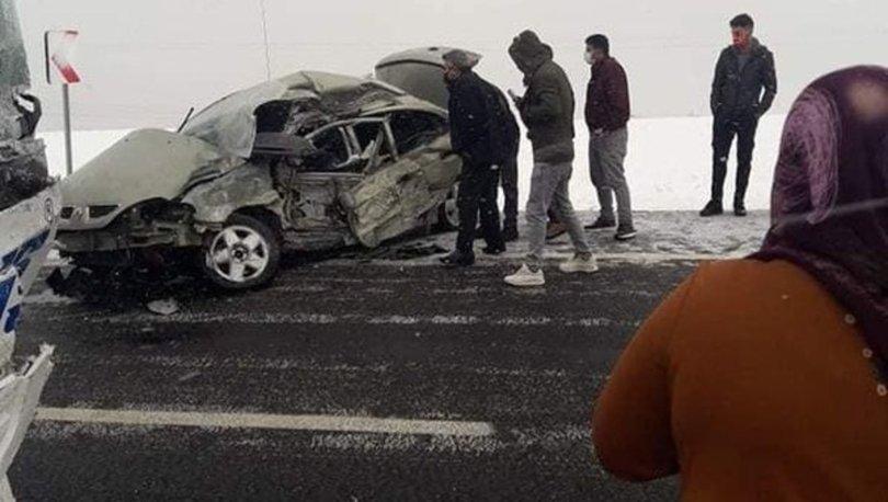 FACİA  Son dakika: Otobüs ile otomobil çarpıştı, bir aile yok oldu