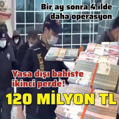 Ankara merkezli 'yasa dışı bahis'te ikinci perde!