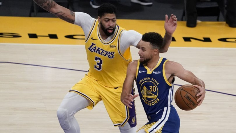 NBA'de Lakers'ın serisine Warriors son verdi