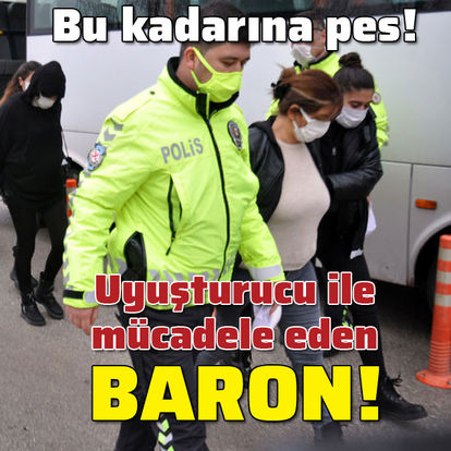 Uyuşturucu ile mücadele eden baron!