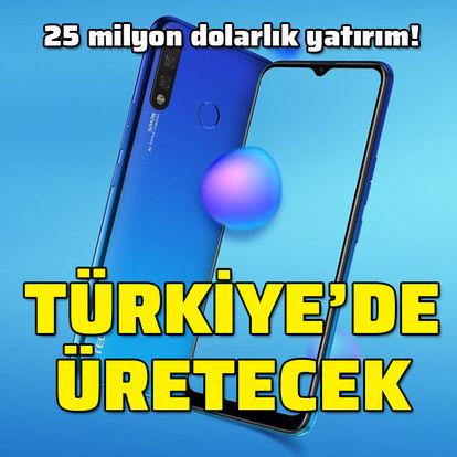 Çinli şirket Türkiye'de telefon üretecek