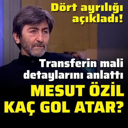 Rıdvan Dilmen'den Mesut Özil yorumu!