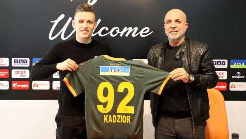 Alanyaspor, Damian Kadzior'u sezon sonuna kadar kiraladı