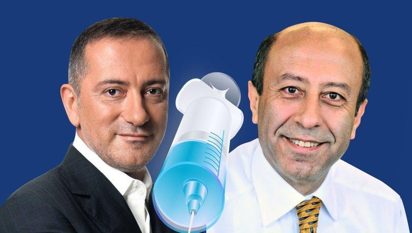 Fatih Altaylı'nın aşı sorusuna Muharrem Sarıkaya'dan yanıt