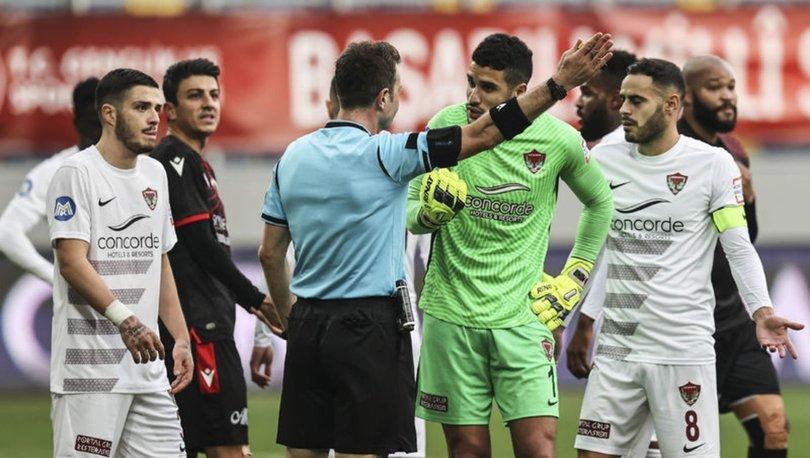 Hataysporlu Munir'in cezası 3 maça indi
