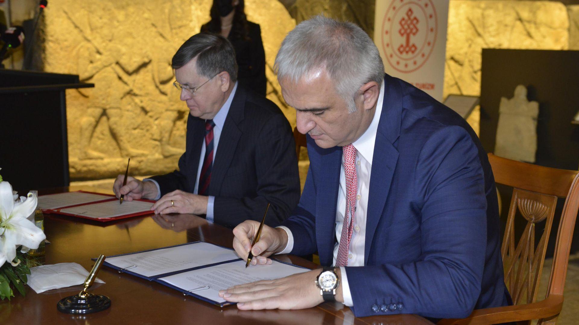 Kültürel mirasın korunması için işbirliği anlaşması imzalandı