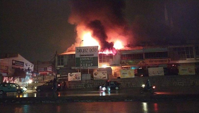 Son dakika: Toptancılar sitesinde korkutan yangın! - Haberler