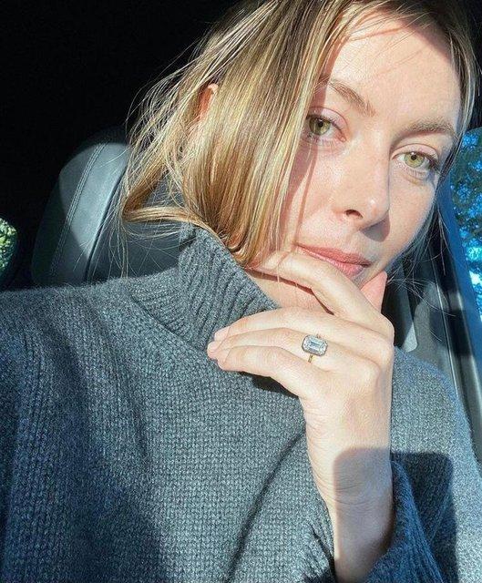Maria Sharapova'nın 400 bin dolarlık nişan yüzüğü - Magazin haberleri