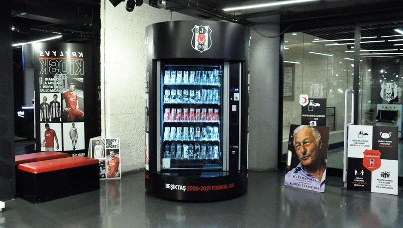 Beşiktaş'tan dünyada bir ilk: Kartal Yuvası Formatic Kiosk
