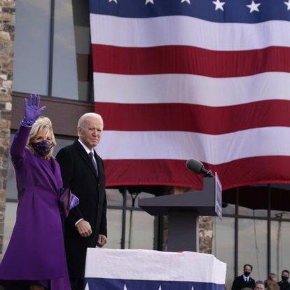 Biden'dan Kovid-19'dan ölen 400 bin Amerikalı için anma töreni