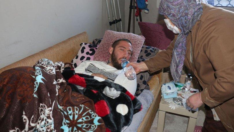 SON DAKİKA: Maganda kurşunu hayatını kararttı! Genç yaşta felç kaldı