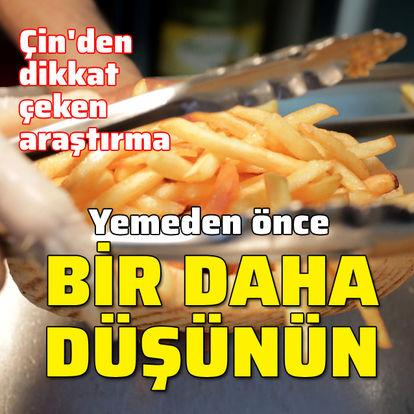 Yemeden önce bir daha düşünün!