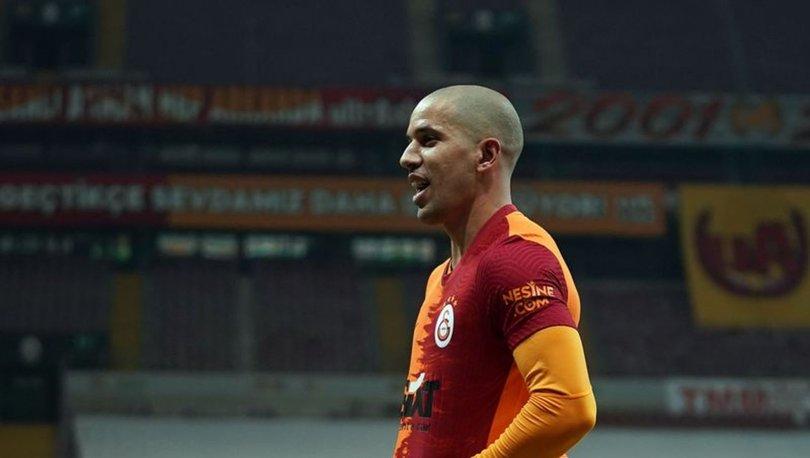 Sofiane Feghouli'nin bu sezonki ikinci gol sevinci
