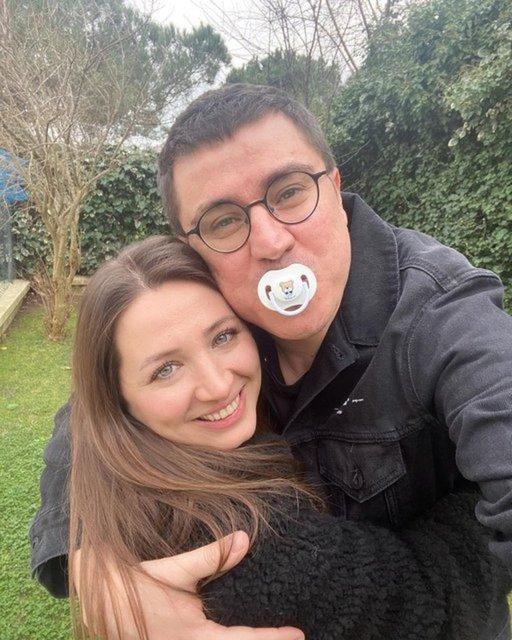 İbrahim Büyükak: Eşimin hamileliği rahat geçiyor - Magazin haberleri