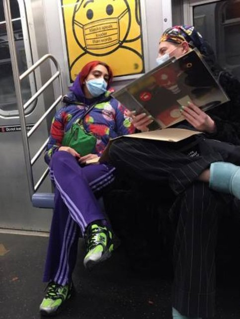 Madonna'nın kızı Lourdes Leon metroda - Magazin haberleri