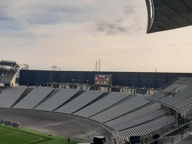 Atatürk Olimpiyat Stadı'nda rüzgar önlemi - Beşiktaş Karagümrük maçı