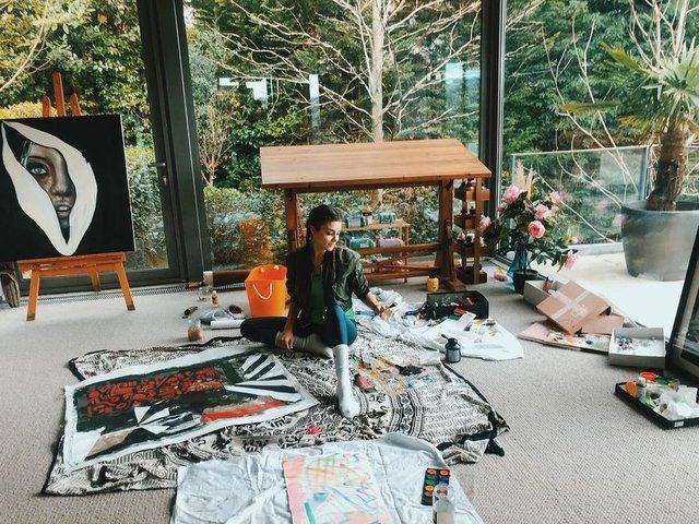 SON DAKİKA| Pandemide kendilerini sanata adadılar - Magazin haberleri
