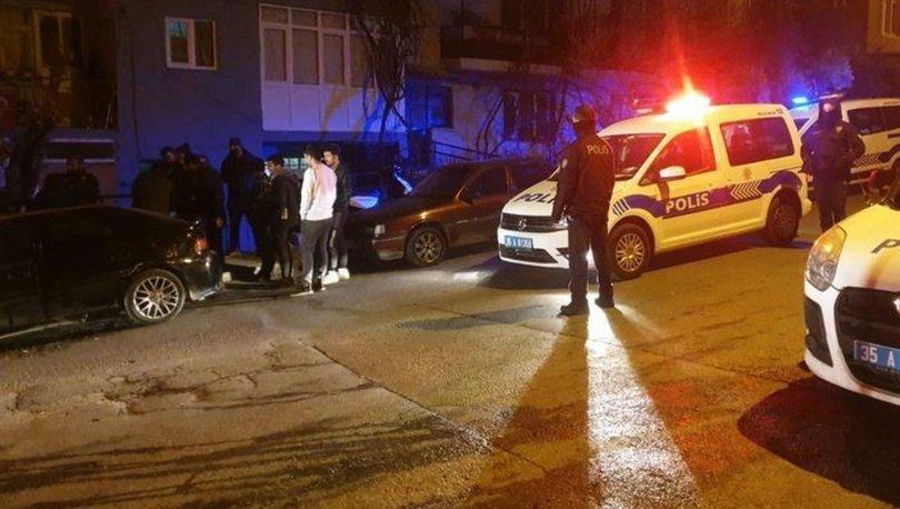 İzmir'de silahlı kavga: 4 yaralı, 3 gözaltı