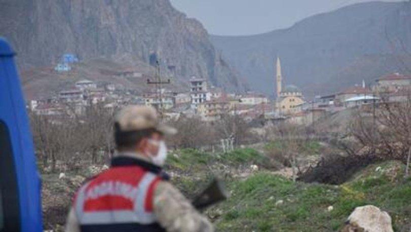 Kastamonu'da bir köye Kovid-19 karantinası