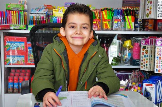 10 yaşındaki Ömer Faruk, matematikte Türkiye 1'incisi oldu