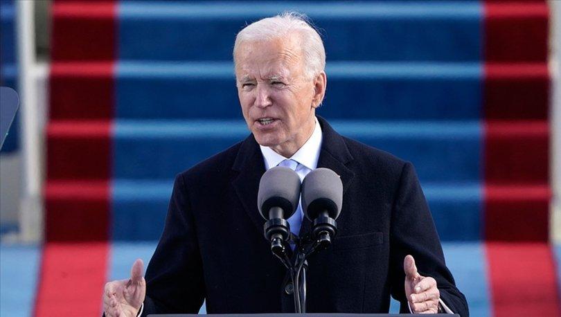 İMZAYI ATTI! Son dakika: Başkan Biden'dan ilk kararlar