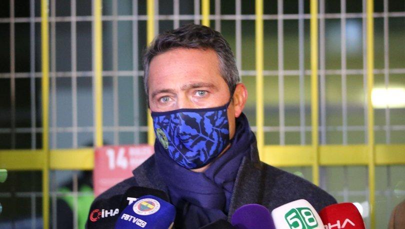 Son dakika Fenerbahçe transfer haberi: Ali Koç'tan transfer açıklaması