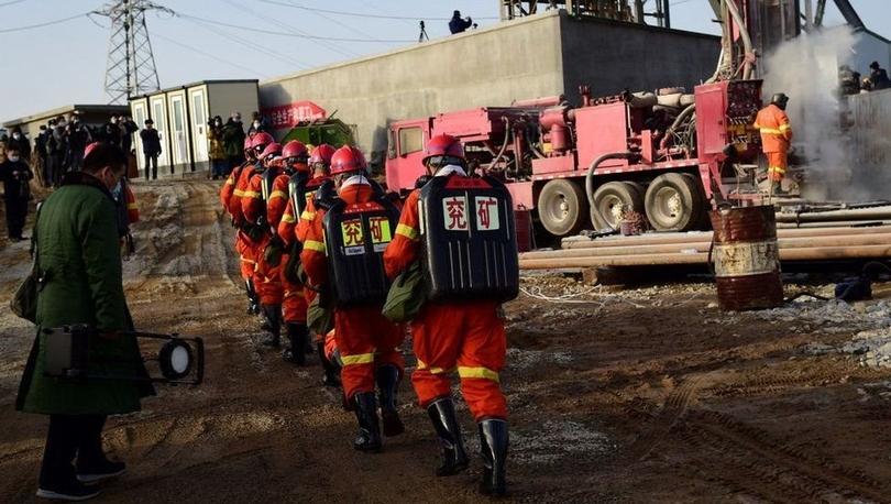 Çinli yetkililer: 12 gündür altın madeninde mahsur kalan işçilerin kurtarılması iki hafta alabilir
