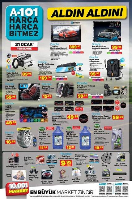 A101 22 Ocak aktüel ürünler kataloğu çıktı! A101 haftanın indirimli ürünler listesi