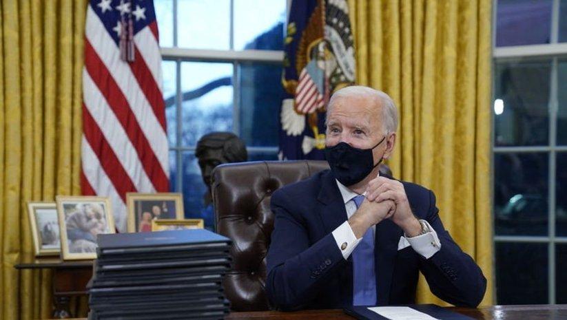 Oval Ofis'te dikkat çeken Biden dokunuşu!