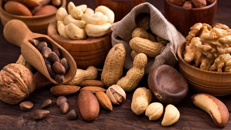 Araştırmaya göre orta yaşlardan itibaren kabuklu yemiş tüketmek bunama riskini azaltıyor