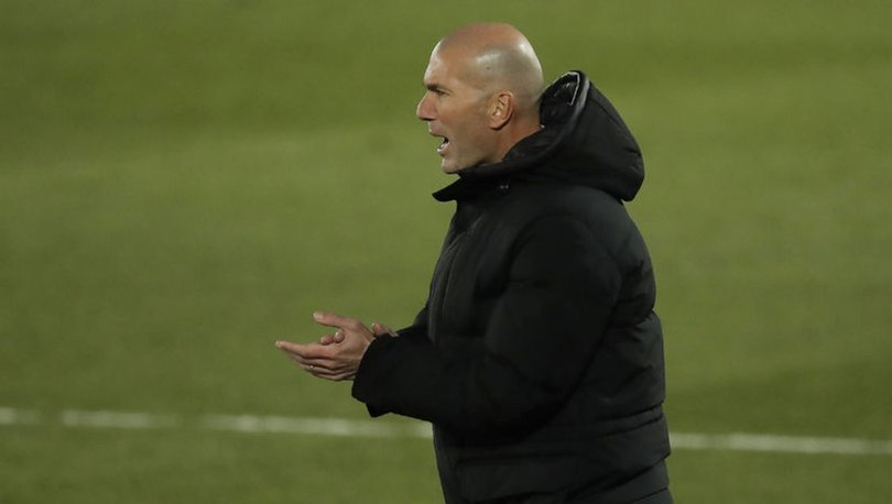 Zinedine Zidane'ın koronavirüs testi pozitif çıktı