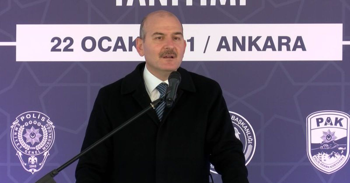 Ο υπουργός Εσωτερικών Süleyman Soylu ανακοίνωσε: Το PAK είναι έτοιμο για καθήκον