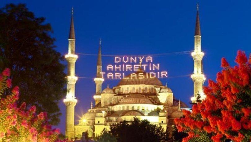 Ramazan ne zaman başlıyor 2021? - Ramazan Bayramı hangi günlere denk geliyor?