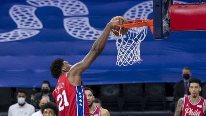 NBA'de Philadelphia 76ers, Doğu Konferansı'nda liderliğini sürdürdü