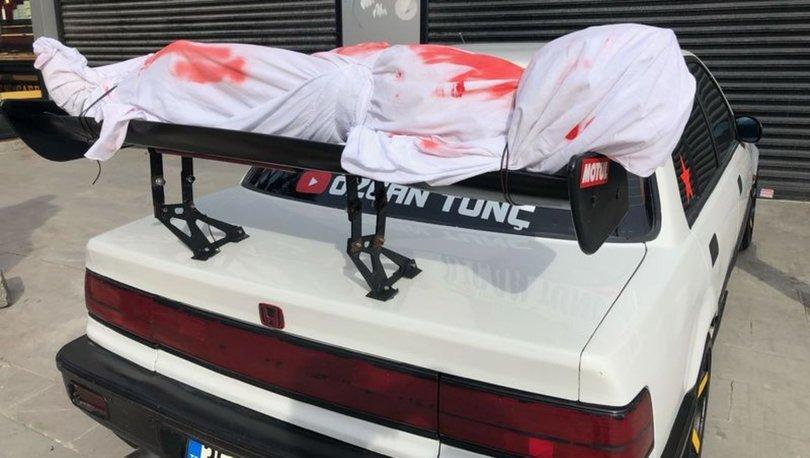 Esenyurt'ta polisi harekete geçiren otomobil - Haberler