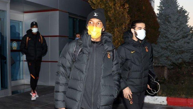Galatasaray kafilesi, Malatya'da