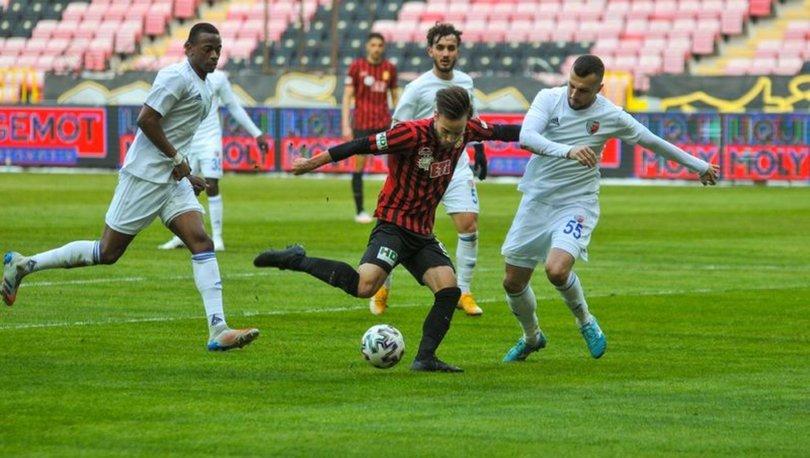 Eskişehirspor: 0 - Ankaraspor: 0 MAÇ SONUCU