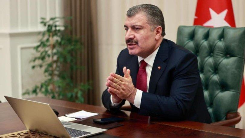 Sağlık Bakanı Fahrettin Koca ülke geneline koronavirüs aşısı uygulamalarını paylaştı