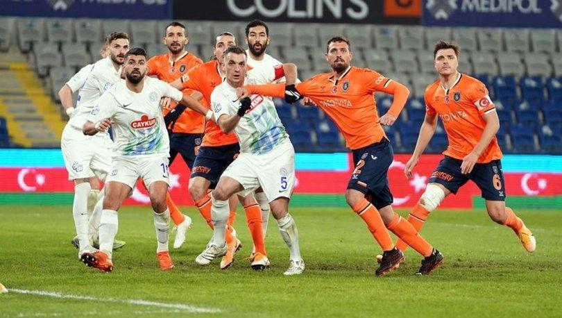 Başakşehir'in galibiyet özlemi üç maça çıktı