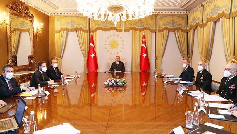 Cumhurbaşkanı Recep Tayyip Erdoğan, Dış Politika Değerlendirme Toplantısı'na başkanlık etti