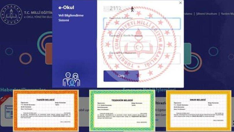e-Okul VGS girişi ile karne notları nasıl görüntülenir? e-Okul ile E-karne 2021 nasıl alınır, e-karne giriş 20