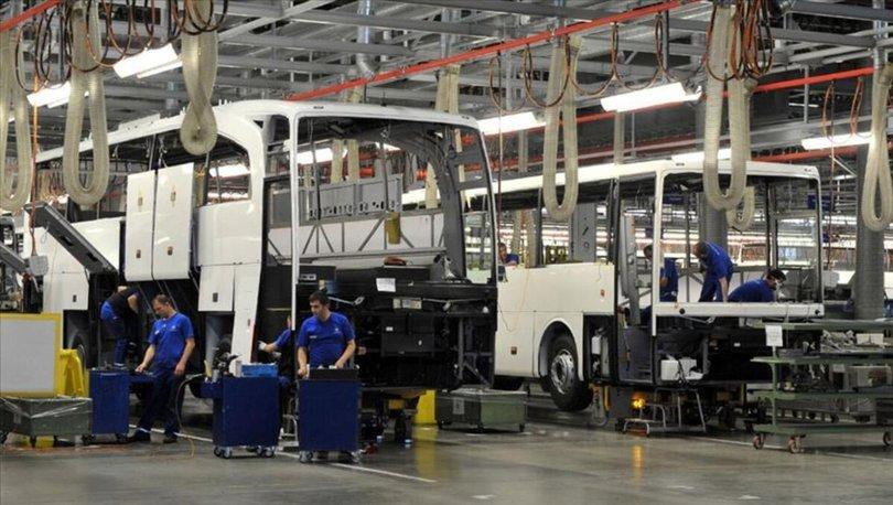 Türkiye'de üretilen otobüs, minibüs ve midibüsler geçen yıl 99 ülkeye satıldı