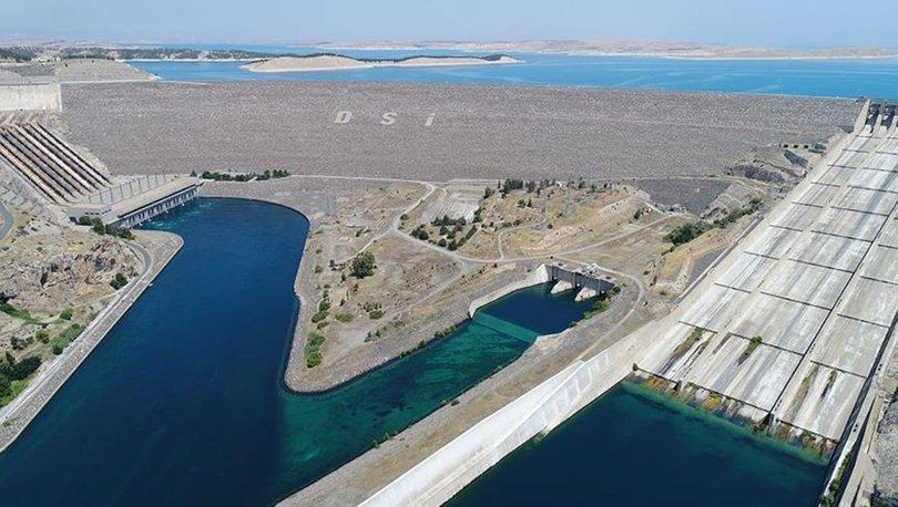 Atatürk Barajı 2020'de ekonomiye 7,2 milyar kilovatsaat enerjiyle katkı sağladı