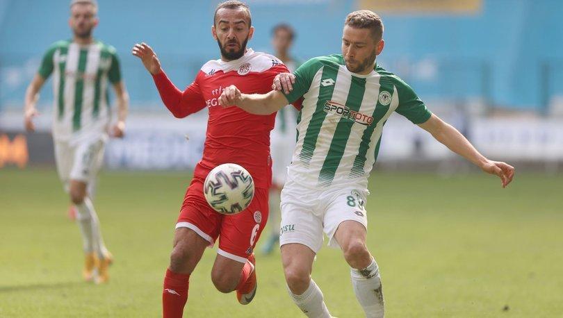 Konyaspor: 0 - Antalyaspor: 0 | MAÇ SONUCU