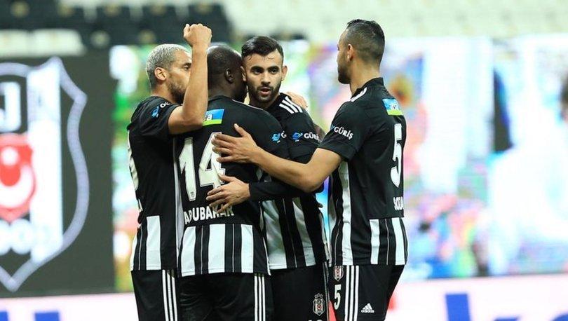 Beşiktaş, Süper Lig'in ilk yarısını lider tamamladı